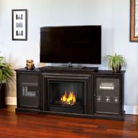 Real Flame Frederick Blackwash Gel Entertainment Fireplace