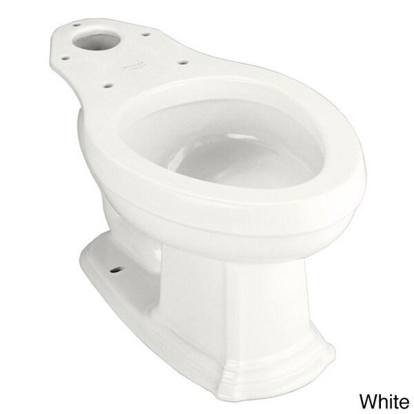Kohler K 4317 Portrait Elongated Toilet Bowl Without Seat