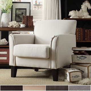 Uptown Modern Accent Chair by iNSPIRE Q Classic. Accent Chairs  Brown Living Room Chairs For Less   Overstock com