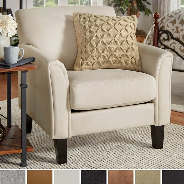Uptown Modern Accent Chair By TRIBECCA HOME
