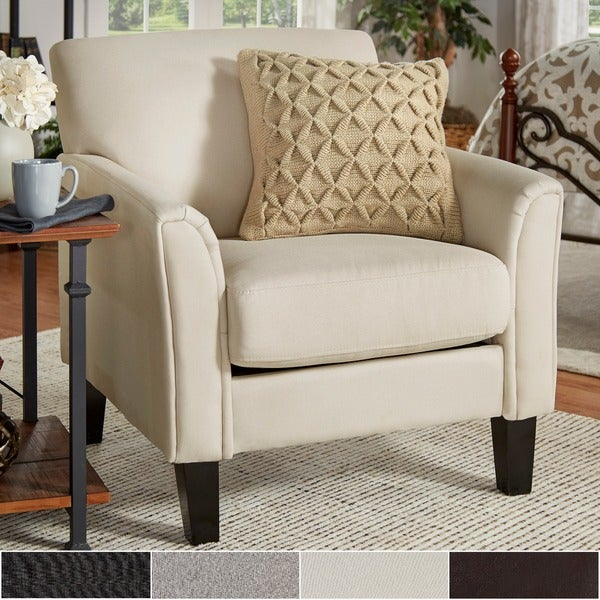 uptown modern accent chair by tribecca home free shipping today