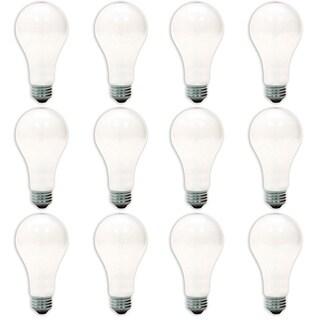 GE '10429' 150-watt A21 Soft White Lightbulbs (Pack of 12)