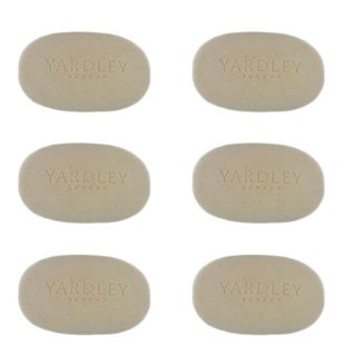 Yardley London Oatmeal & Almond Naturally Moisturizing Bath Bar (Pack of 6)