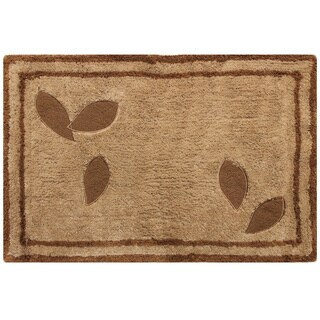 Sherry Kline Rindge Embroidered Cotton 20x30-inch Bath Rug