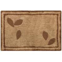 Sherry Kline Rindge Embroidered Cotton 20x30-inch Bath Rug