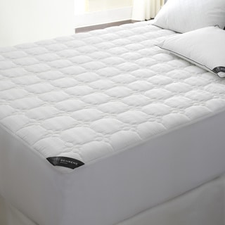 Behrens England Deep Pocket 500 Thread Count Cotton Waterproof Mattress Pad