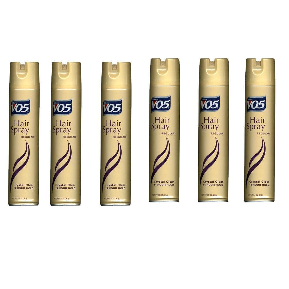 Alberto VO5 Regular Crystal Clear 14 Hour Hold Hair Spray...