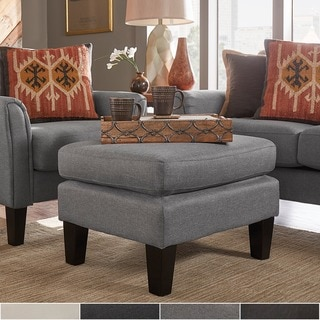 Uptown Modern Ottoman by TRIBECCA HOME