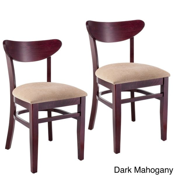Incredible Shop Kidney Beechwood Dining Chair Set Of 2 Free Pabps2019 Chair Design Images Pabps2019Com