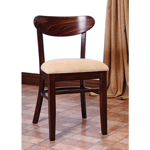 Kidney Beechwood Dining Chair Set Of 2