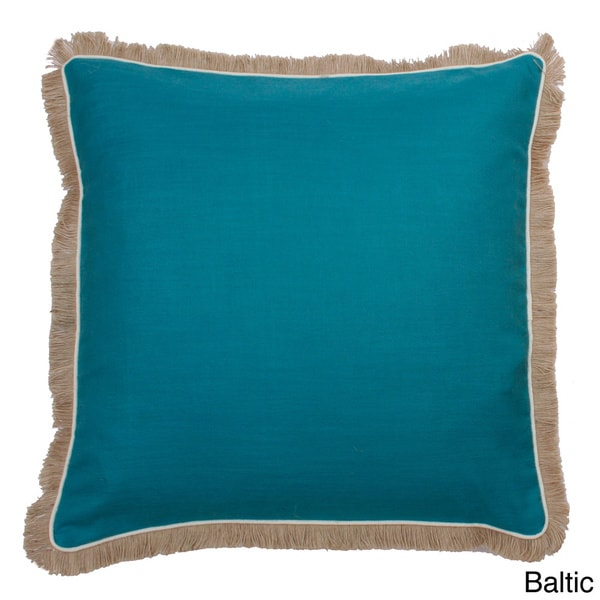 Dean Fringe Down Filled Throw Pillow