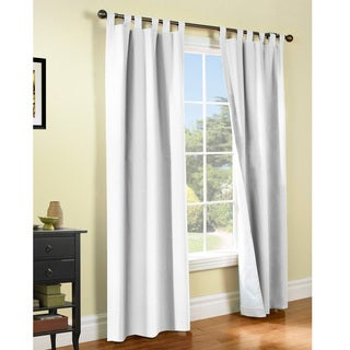 Weathermate Insulated Cotton Curtain Panel Pair