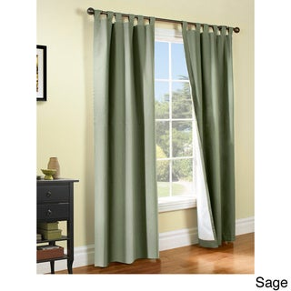 Weathermate Insulated Cotton Curtain Panel Pair (63x80 sage)