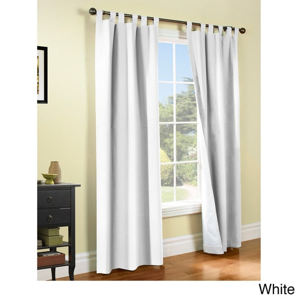 Weathermate Insulated Cotton Curtain Panel Pair Free