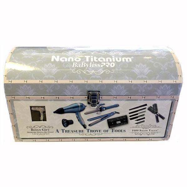 BaByliss Pro Treasure Trove Nano Titanium Styling Tools Set