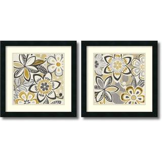 Framed Art Print 'Free Wheelin  - set of 2' by Wild Apple Portfolio 18 x 18-inch Each