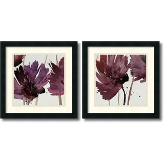 Natasha Barnes 'Room for More' 18 x 18-inch Framed Art Print (Set of 2)