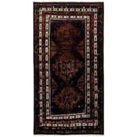 Herat Oriental Afghan Hand-knotted Tribal Balouchi Wool Rug (4'9 x 8'8) - 4'9 x 8'8