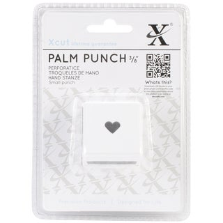 Small Palm Punch-Traditional Heart