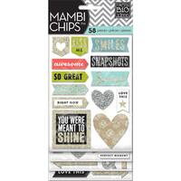 Chipboard Stickers 4 Sheets-Love This