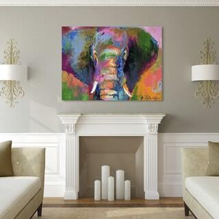Richard Wallich 'Elephant 2' Canvas Art