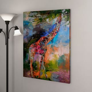 The Curated Nomad Richard Wallich 'Giraffes' Canvas Art