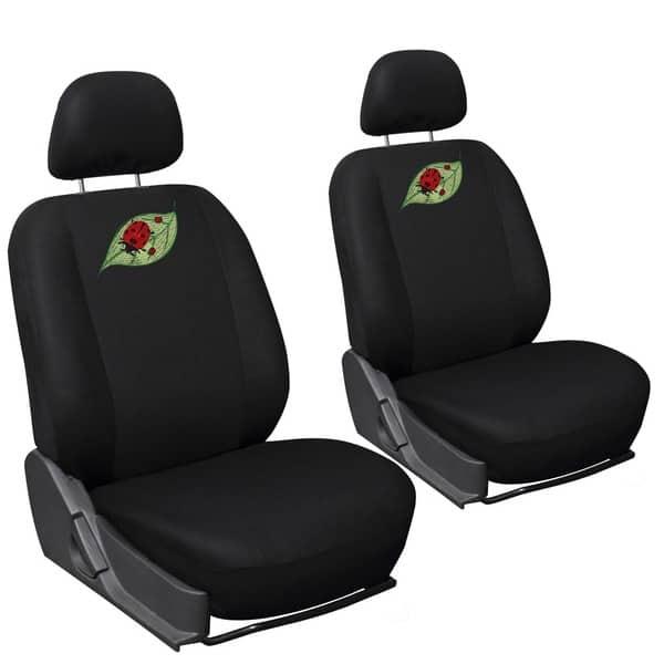 Shop Oxgord Cute Lady Bug 17 Piece Car Seat Covers Set With