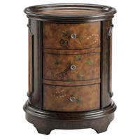 Autumn Oval 3-drawer Accent Chest