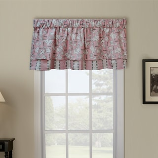 Mini Babies Pink Cotton Window Valance