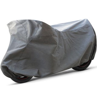 Oxgord All Weather Indoor/ Outdoor Standard Motorcycle Cover for Sport Bikes, Cruisers, Choppers, an