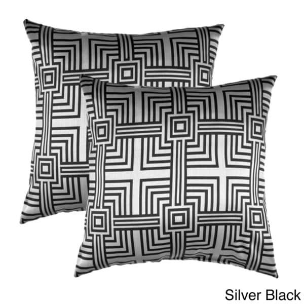 Elton Square Decorative Throw Pillows (Set of 2)