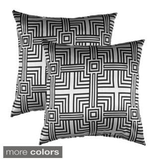 Elton Square Decorative Throw Pillows (Set of 2)