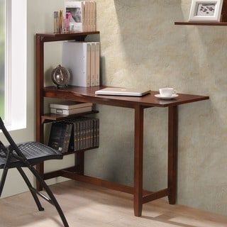 International Caravan Hamburg Contemporary 4-tier Shelving Study Set
