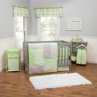 Trend Lab 5-piece Lauren Crib Bedding Set