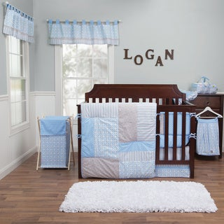 Trend Lab Logan 5-piece Crib Bedding Set