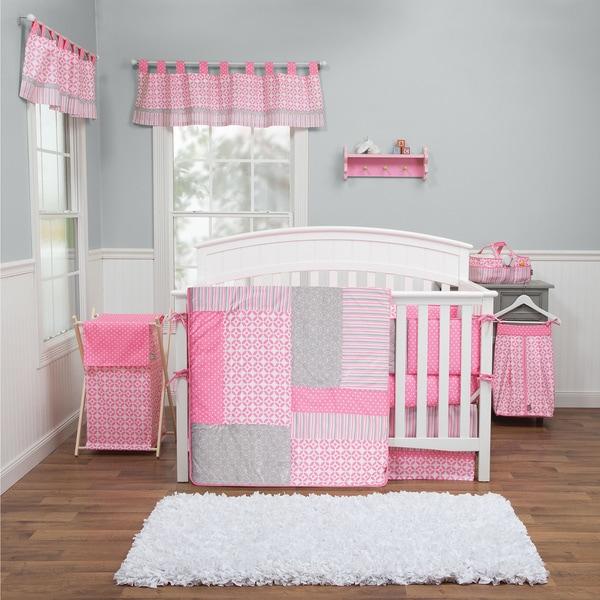 Shop Trend Lab Lily 5 Piece Crib Bedding Set Free