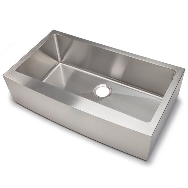 Hahn Chef Series Handmade Extra Large Single Farmhouse   Free Shipping  Today   Overstock.com   16009831