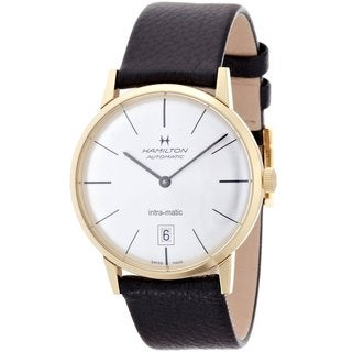 Link to Hamilton Men's 'Intra-Matic' Automatic Silver Dial Watch Similar Items in Men's Watches