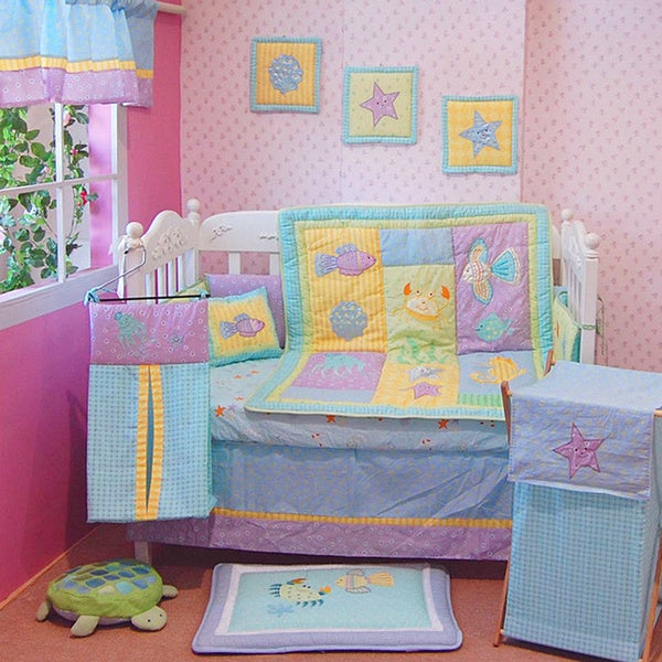 Under The Sea 6 Piece Crib Bedding Set