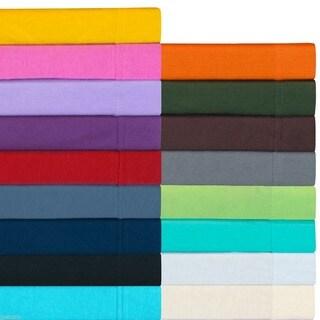 Jersey Cotton T-Shirt Twin XL Soft Sheet Set
