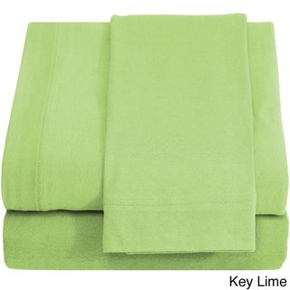 Jersey Knit Cotton Super Soft Twin XL Sheet Set