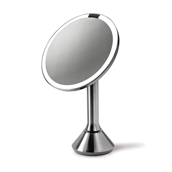 Shop Simplehuman Stainless Steel Sensor Vanity Mirror Free