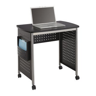 Safco Scoot Sit-down Computer Workstation Desk with File Pocket