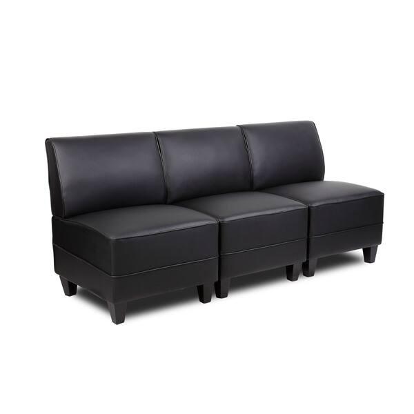 Enjoyable Shop Boss Reception Sectional Sofa Arm Seat Free Shipping Camellatalisay Diy Chair Ideas Camellatalisaycom