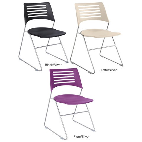 Safco Pique Stack Chair (Set of 4)