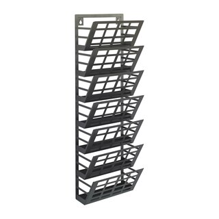 Safco Grid 7-pocket Magazine Rack