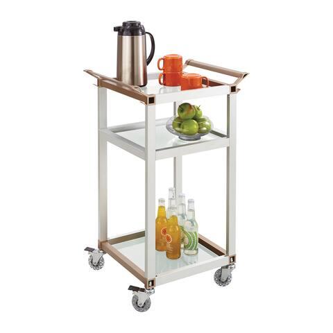 Safco Small Refreshment Hospitality Cart