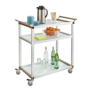 Safco Large Refreshment Hospitality Cart