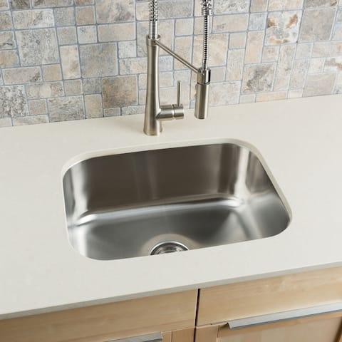 Hahn Stainless Steel Large Single-bowl Undermount Kitchen Sink