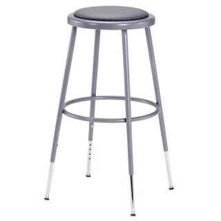 Grey Adjustable Height Stool